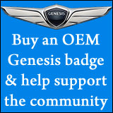 buy a genesis winged badge emblem